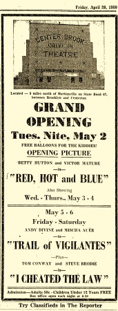 CB Grand Opening May-1950 YL copy